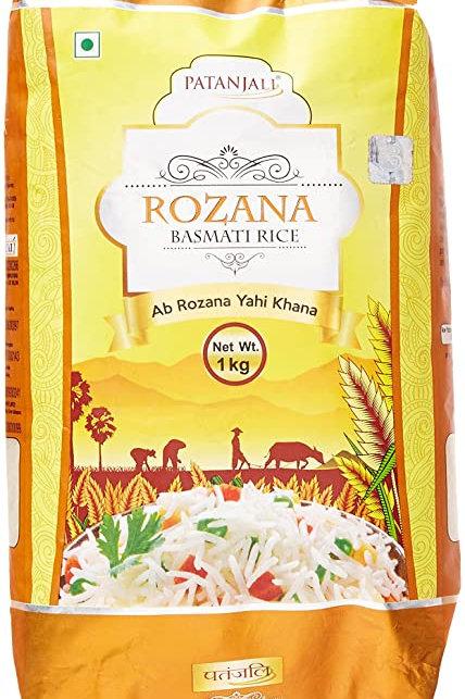 Rozana Basmati Rice (Patanjali) 1 kg