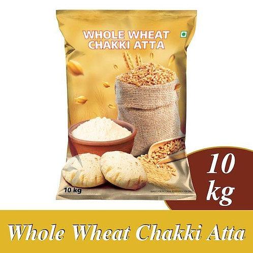 Whole Wheat Chakki Atta 10kg