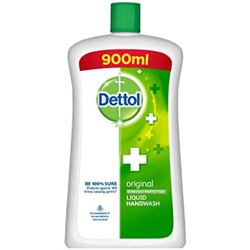 DETTOL ORIGINAL LIQUID SOAP 900 ML