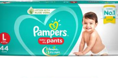 PAMPERS DIAPER L 44S