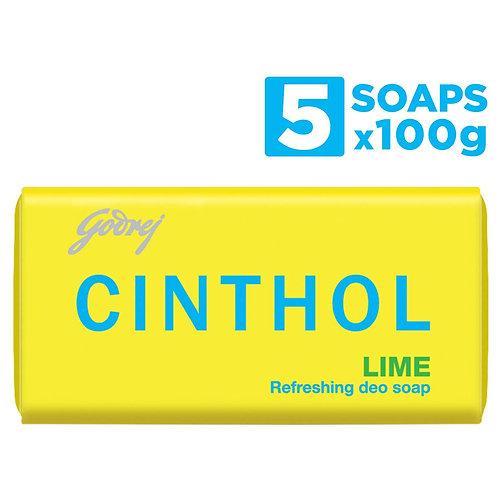CINTHOL LIME 100GM PK4