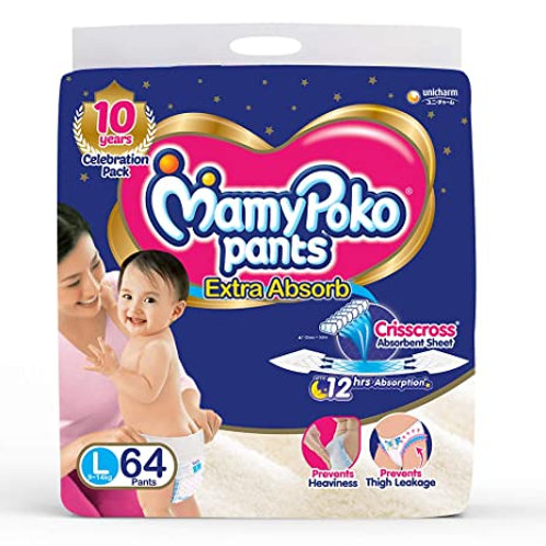 MAMYPOKO PANTS EXTRA ABSORB LARGE 64