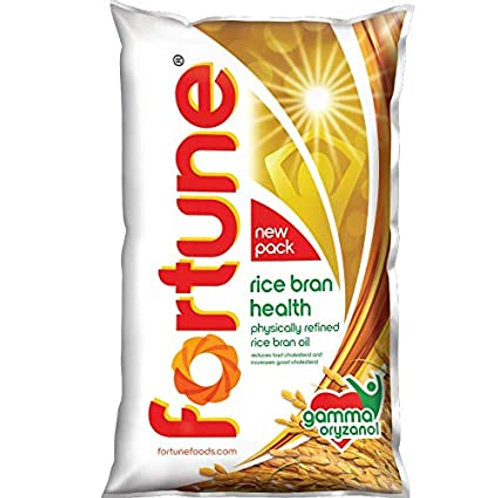Rice Bran Health Oil (Fortune) 1 Ltr