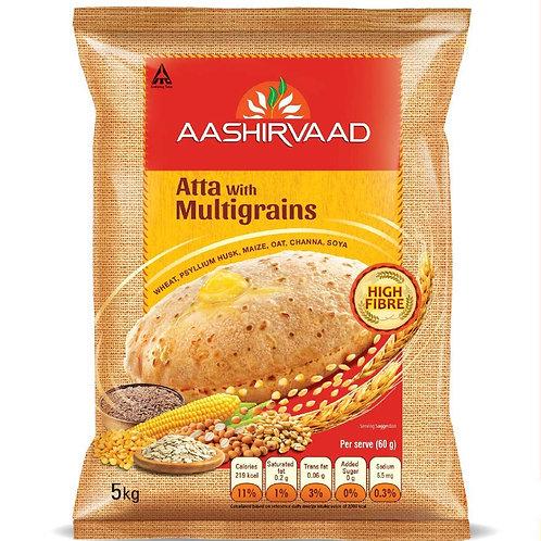 Ashirwad Multigrains 5 kg