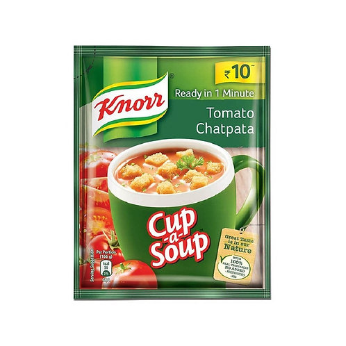 KNORR INSTANT CHATPATA TOMATO SOUP 14GM
