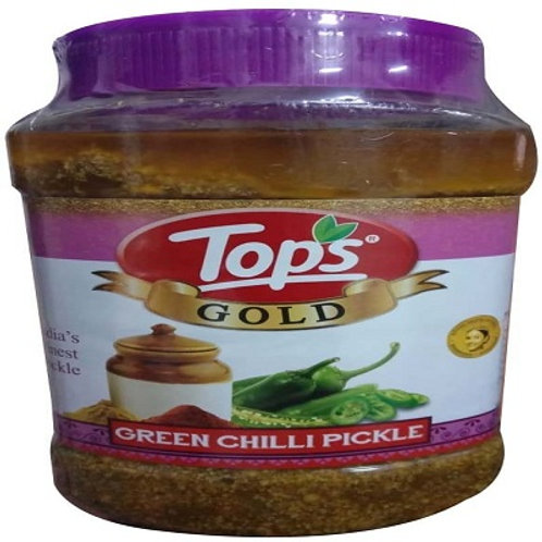 TOPS GREEN CHILLIPICKLE 950GM