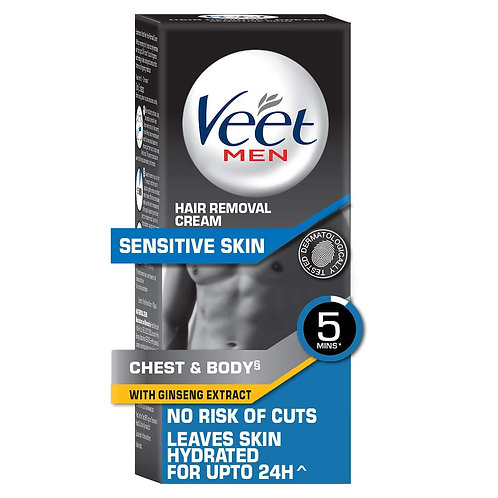 VEET MEN HAIR REMOVAL CREAM SENSITIVE 50G