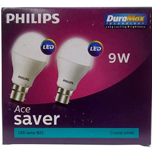 PHILIPS LED BULB 9W PK OF 2