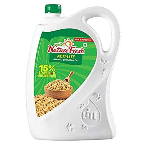 NATURE FRESH SOY OIL 5LT JAR