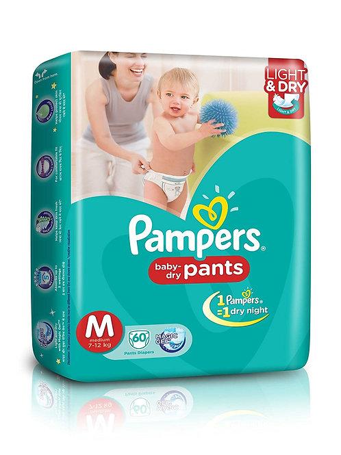 PAMPERS BABY PANTS MEDIUM 8S