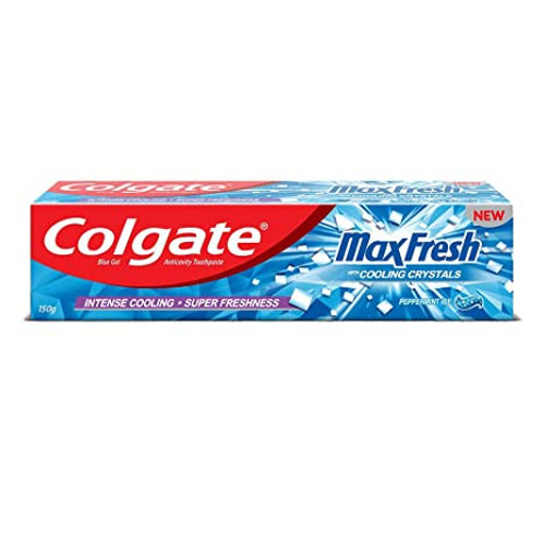 COLGATE MAXFRESH BLUE TOOTHPASTE 150G