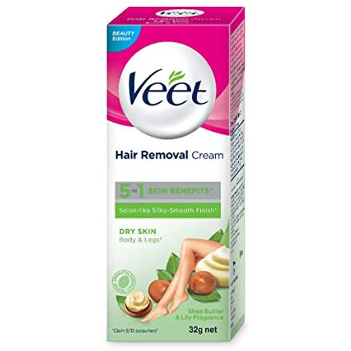VEET DRY SKIN HAIR REMOVER CREAM 32GM