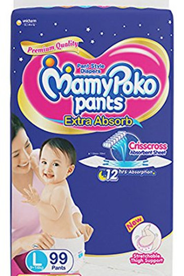MAMYPOKO EXTRA ABSORB DIAPER L 4S