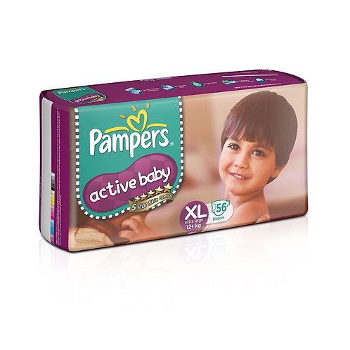 PAMPERS ACTIVE BABY PANTS XL SUPER JUMBO