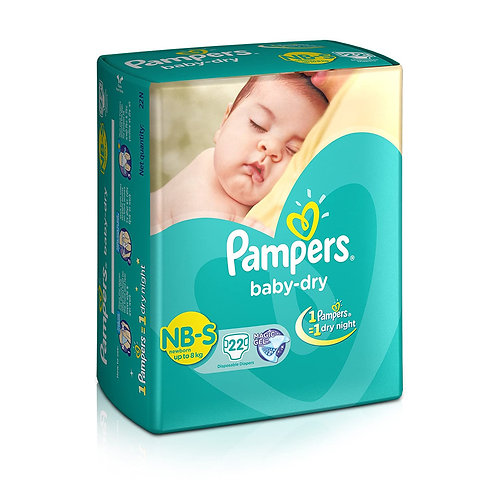 PAMPERS DIAPER SMALL 2S PK8