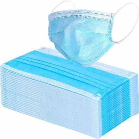 3 PLY DISPOSABLE MASK PACK OF 10