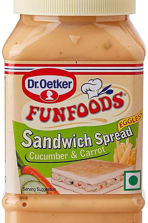 Funfoods Spread Cucubcarrot 300gm