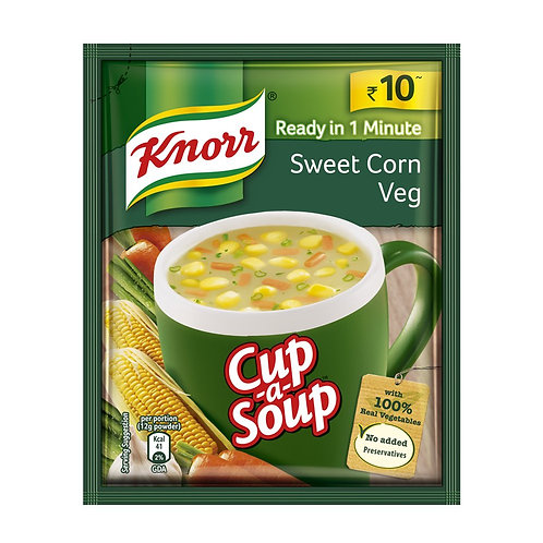 KNORR INSTANT SOUP SWEET CORN 10GM