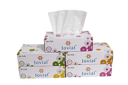 JOVIAL FACE TISSUE 2 PLY 100 PULLS