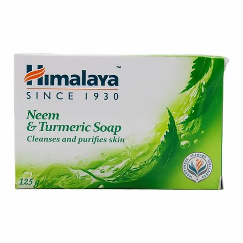 Himalaya Soap - Neem & Turmeric, 4x125 gm