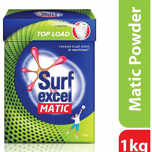 Surf Excel Matic Top Load washing Powder 1 Kg