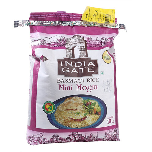 India Gate Basmati Rice Mini Mogra II 10 Kg