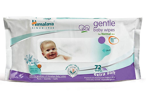 HIMALAYA BABY WIPES 72 S CP