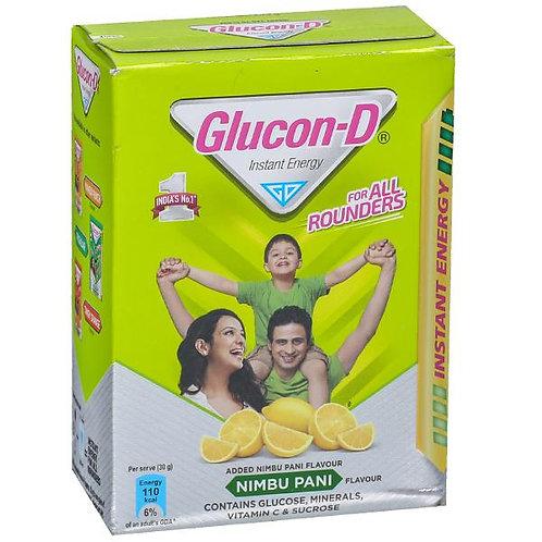 GLUCON-D NIMBU PANI REFILL 450GM