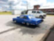 Chevy Drag Racing Car