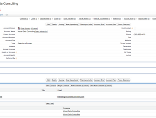 360 Account View in Salesforce.com