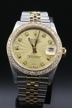 Rolex Datejust  two tone Steel & 18 k Gold