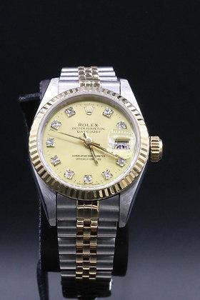 Rolex Dayjust 2-tone Steel & 18 k yellow gold