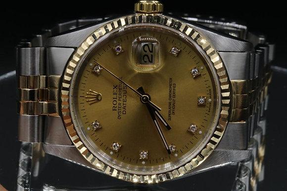 Used Datejust Rolex