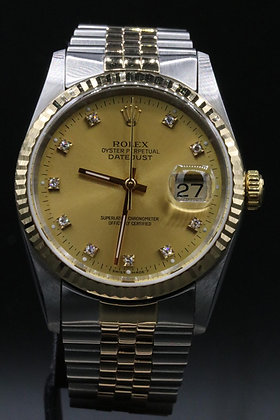 Rolex Datejust two yone 18 k Gold & Steel