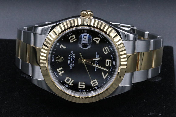 Datejust Two, 2-tone steel and 18 k yellow gold Used Rolex watch
