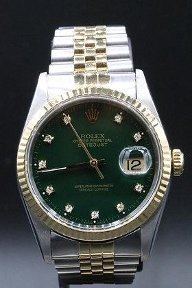 Rolex Datejust 2-tone 18 k Gold & Steel
