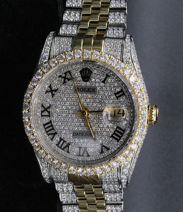 2-tone Datejust Used Rolex still and yellow gold 18 k