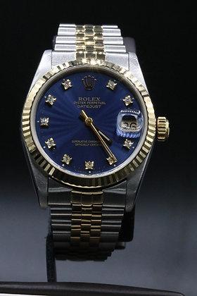 Rolex Datejust 2-tone 18 k Gold& Steel
