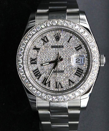 Datejust Two Steel Used Rolex Watch