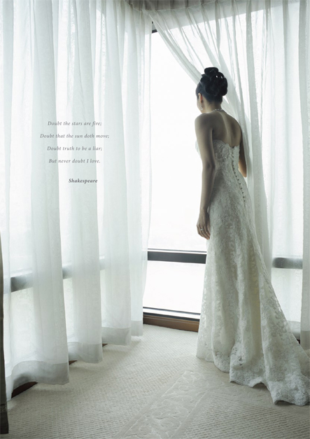 Peninsula wedding brochure