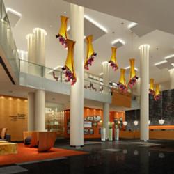 Wuhan Frontier Hotel, lobby