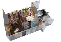 Wuhan Frontier, SOHo guestrooms