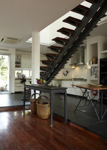 Bangkachao residence, interior