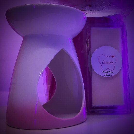 CLICK AND COLLECT GIFT SET - Pink Ceramic Warmer