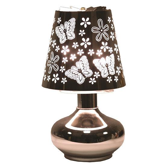 Electric Carousel Touch Lamp Warmer - Butterflies