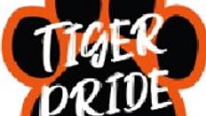 Tiger Pride Sticker