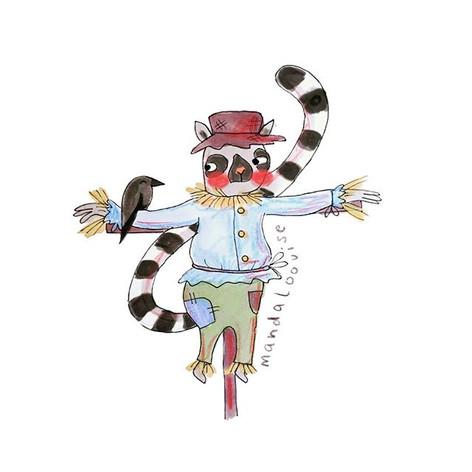 Day 22 - Scarecrow Lemur