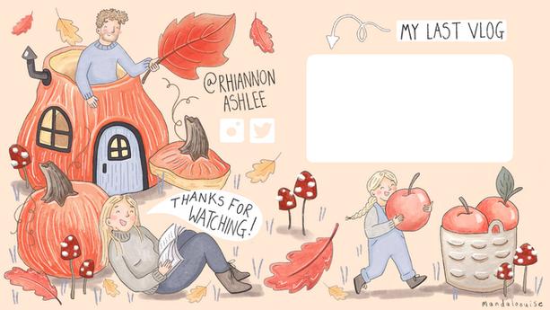 Rhiannon Ashlee Youtube Vlog Channel Endslate Autumnal