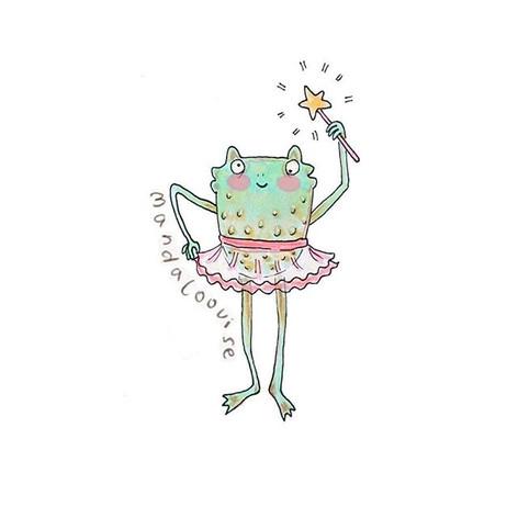 Day 6 - Ballerina Frog