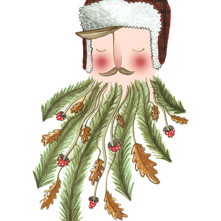 Forest Beard Man